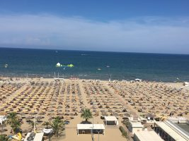 Spiaggia Miramare di Rimini, Riviera Romagnola