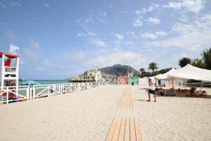 Spiaggia Mondello - Palermo - Sicilia