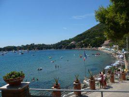 Spiaggia di Ogliastro Marina, Castellabate, Cilento
