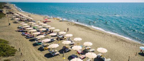 Spiaggia Marina di Pescia Romana - Viterbo - Lazio