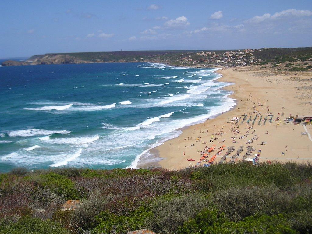 Spiaggia Piscinas