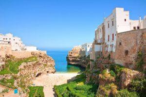 Spiaggia Polignano a Mare - Lama Monachile Cala Porto - Puglia