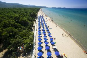 Spiaggia Punta Ala, Maremma, Toscana