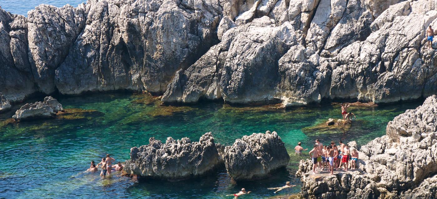 Spiaggia del Faro di Punta Carena