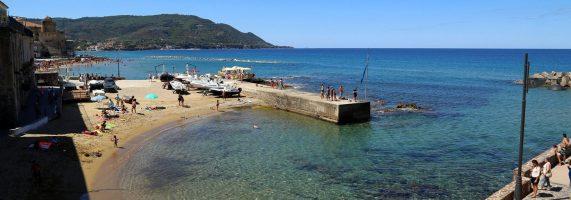Spiaggia Santa Maria di Castellabate, Cilento