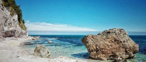 Spiaggia Sassi Neri Sirolo - Riviera del Conero - Marche
