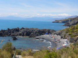 Spiaggia Scalea, Calabria