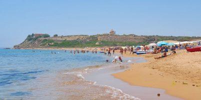 Spiaggia di Marinella di Selinunte, Sicilia