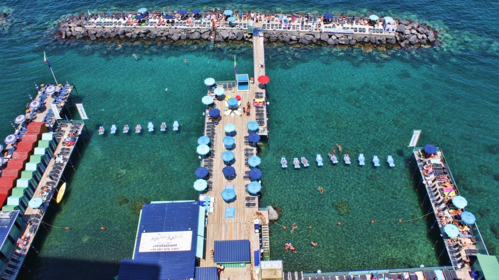 Spiaggia di Sorrento - Campania