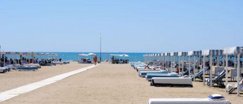 Spiaggia di Tonfano, Marina di Pietrasanta, Versilia