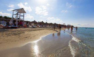 Spiaggia Torre Pozzillo - Cinisi - Sicilia