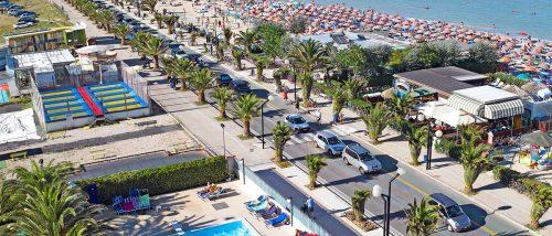 Spiaggia Villa Rosa di Martinsicuro