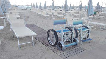 Spiaggia Viserba di Rimini, Riviera Romagnola