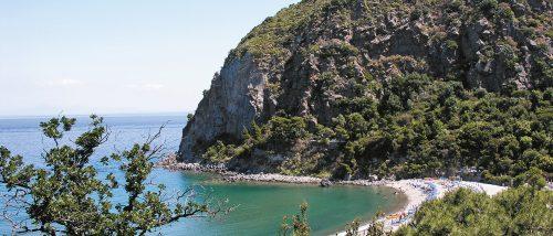 Spiaggia Cafiero - Baia di Cafiero - Ischia