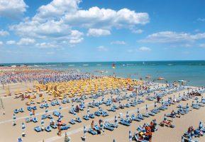 Spiaggia Villamarina di Cesenatico - Emilia Romagna