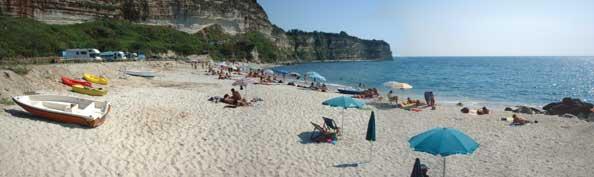 Spiaggia di Brattirò