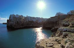 Spiaggia Polignano a Mare - Puglia