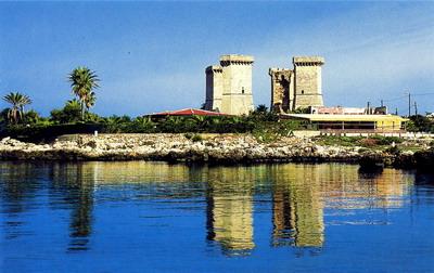 Spiaggia di quattro colonne portale delle spiagge italiane - Santa maria al bagno spiagge ...