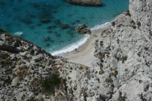 Spiaggia a Ficara - Capo Vaticano - Vibo Valentia