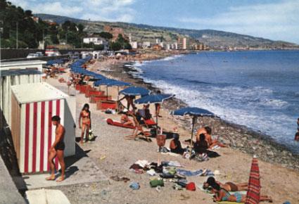 Spiaggia di Bussana di San Remo
