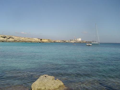 Spiaggia di cala azzurra portale delle for Culla azzurra
