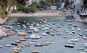 Spiaggia Cala Feola - Isola di Ponza