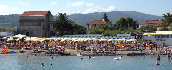 Spiaggia di Cervo Ligure