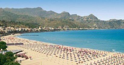 Spiaggia Giardini di Naxos