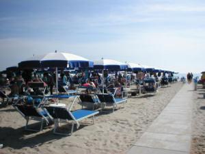 Spiaggia Pinarella di Cervia - Romagna