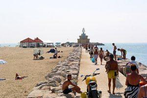 Spiaggia di Punta Sabbioni - Lido di Jesolo