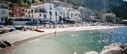Spiaggia di Villazzano - Massa Lubrense - Penisola Sorrentina