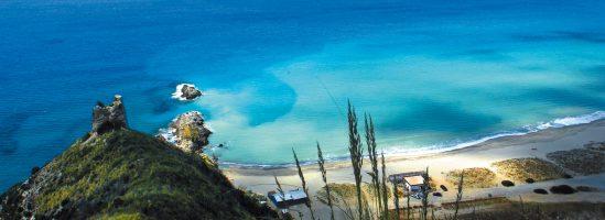 Spiaggia Torre del Telegrafo - Punta del Telegrafo - Ascea