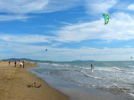 Spiaggia Fiumara Beach - Kite Spot, Marina di Grosseto