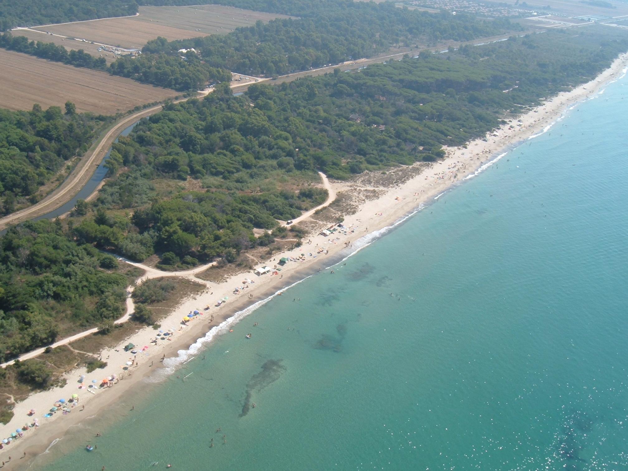 Spiaggia Parco Costiero della Sterpaia - Piombino