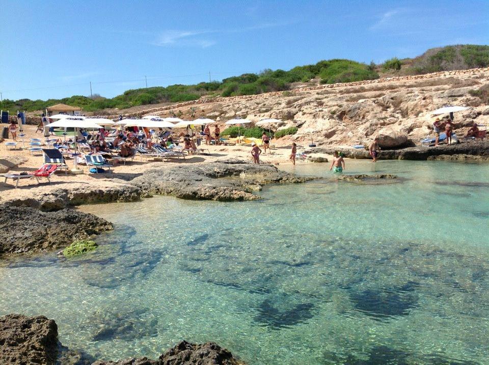 Spiaggia Sciatu Persu - Cala Fiato Perduto - Lampedusa