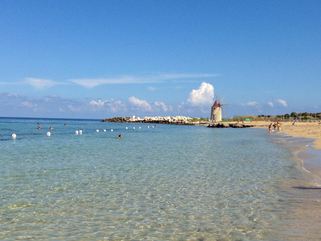 Risultati immagini per spiaggia san giuliano trapani