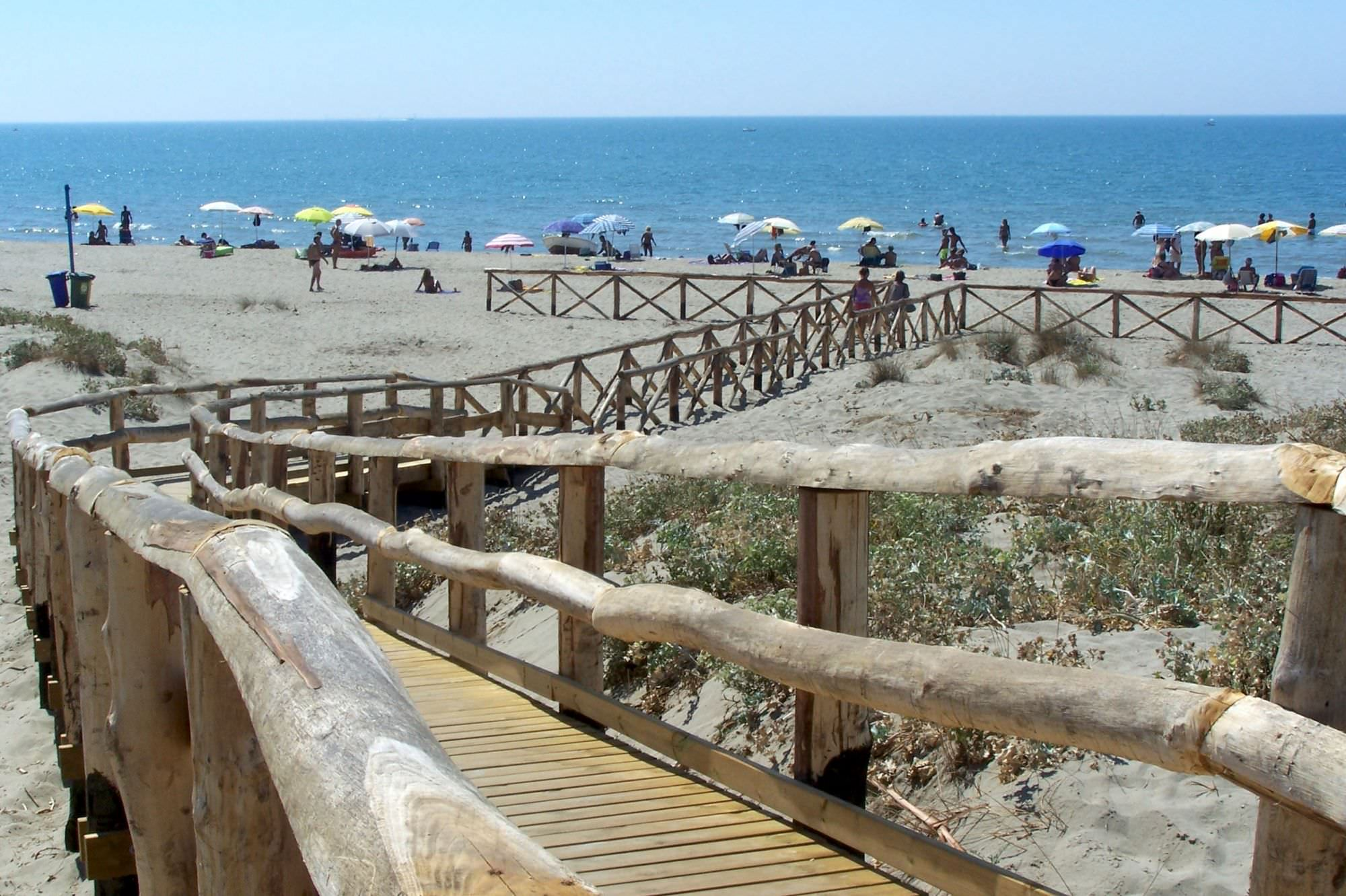 Spiaggia di Marina di Torre del Lago Puccini