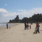 Pulizia spiaggia Torre di Cerrano