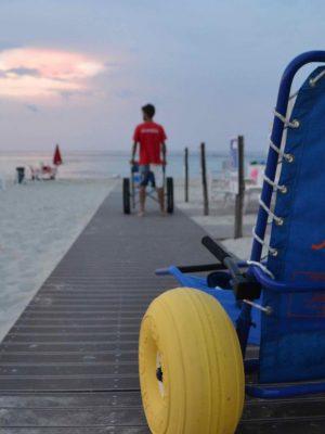Novità Trovaspiagge.it: spiagge accessibili ai disabili motori