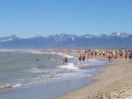 Spiaggia marina di Vecchiano