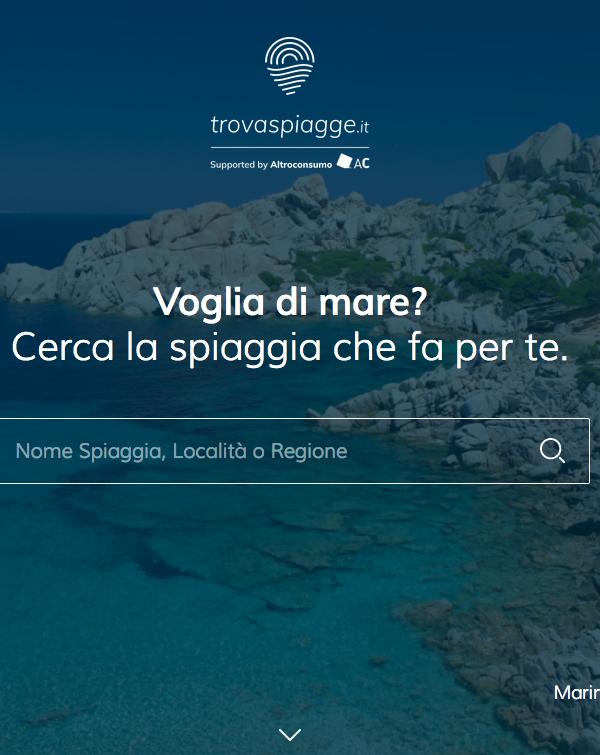 Trovaspiagge.it - Portale delle spiagge italiane dove potrai lasciare la tua recensione