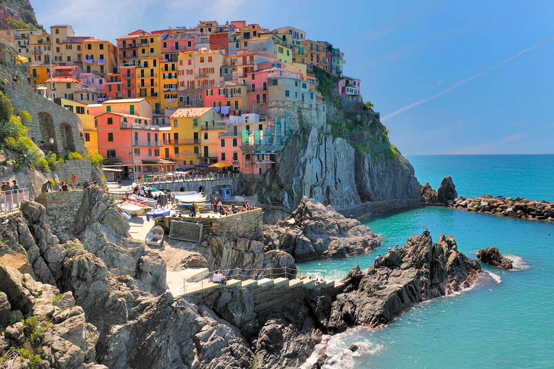 Spiaggia Manarola - Cinque Terre - Liguria