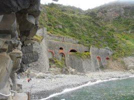 Spiaggia Riomaggiore - Cinque Terre - Liguria