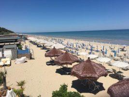 Spiaggia Corfù di Pineto, Abruzzo
