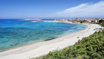 Spiaggia Lunga Isola Rossa, Sardegna