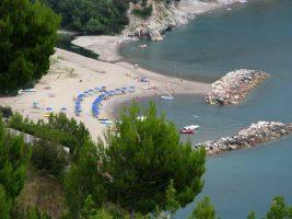 Spiaggia della Marinella, Palinuro, Cilento
