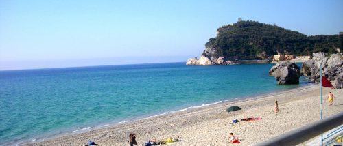 Spiaggia del Malpasso, Finale Ligure, Liguria