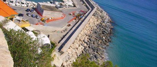 Spiaggia del Porto di Finale Ligure