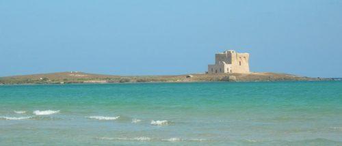 Spiaggia Mezzaluna, Carovigno, Puglia