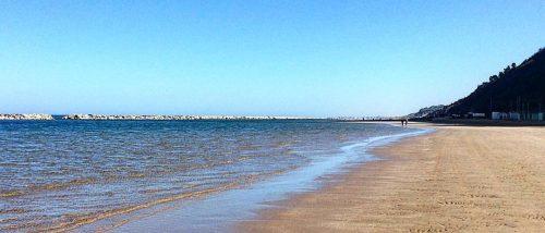 Spiaggia di Sottomonte, Gabicce Mare, Marche